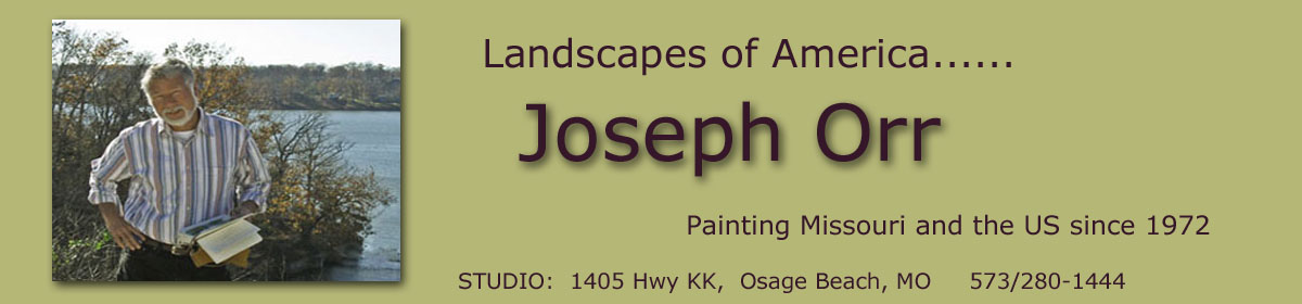 Joseph Orr – Landscapes of America