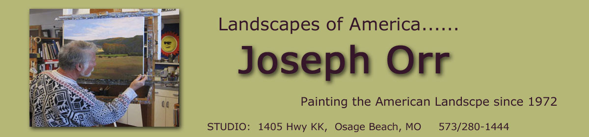 Joseph Orr – Landscapes of America