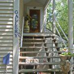 Artist Joseph Orr's Entrance to Art Gallery & Studo in Osage Beach, MO