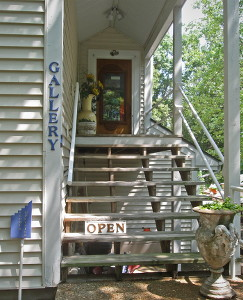 Entrance to Orr's Art Gallery & Studo in Osage Beach, MO